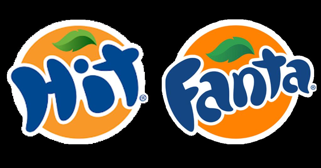 Logotipos de fanta y hit
