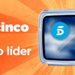Telecinco, cadena líder en televisión en mayo